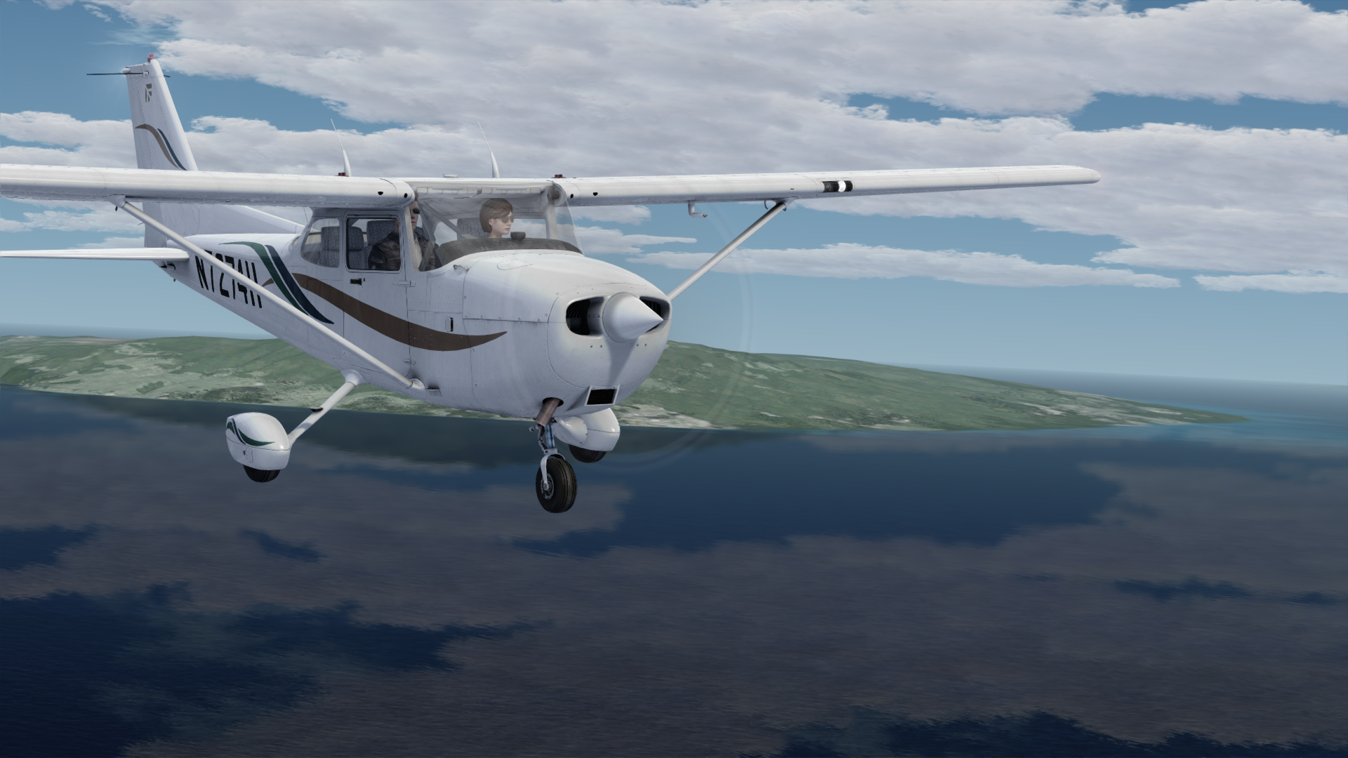 GIFT Airplane Front View Exterior